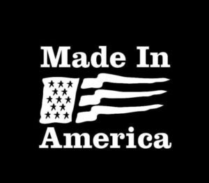 Made in America Decal Sticker