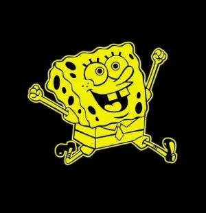 Sponge Bob Square Pants Decal Sticker