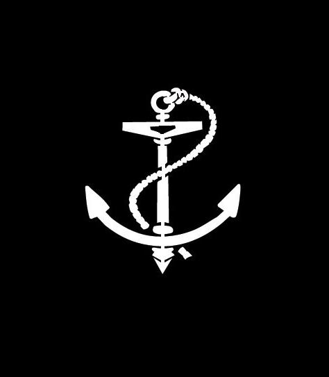 Anchor Boating decal sticker ii