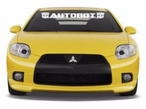 Transformers Autobot Windshield Decals