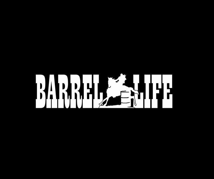 Graphics For Barrel Racing Graphics Wwwgraphicsbuzzcom - Barrel racing custom vinyl decals for trucks