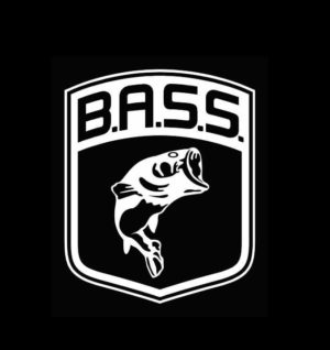 Bass Large Mouth Logo Decal Sticker
