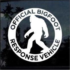 big foot response vehicle decal sticker