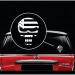 Punisher Skull Flag Window Decal Sticker
