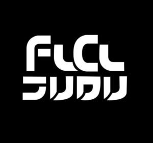 FLCL English Japanese decal sticker