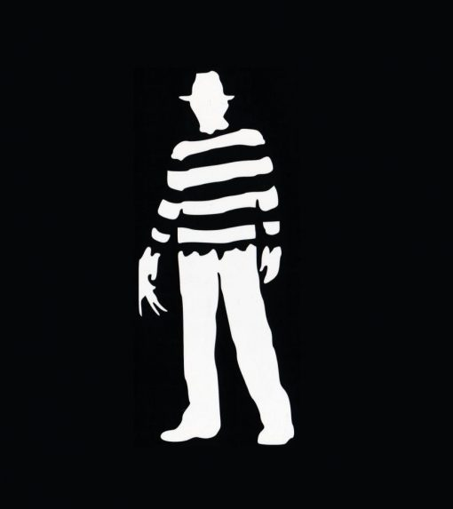 Freddy krueger horror Decal
