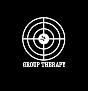 Group Therapy Shooting Decal Sticker
