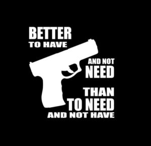 guns better to have