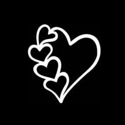 Heart Decal Sticker a2