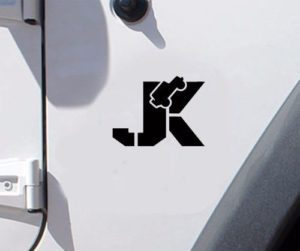 Jeep JK fender Decal Pair A3