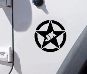 Jeep JK fender Decal Pair A6