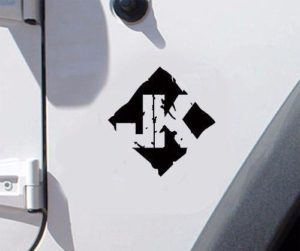 Jeep JK fender Decal Pair A5