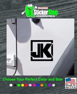 jeep jk wrangler fender decal sticker