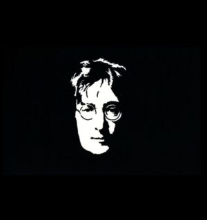 John Lennon Music Decal Sticker