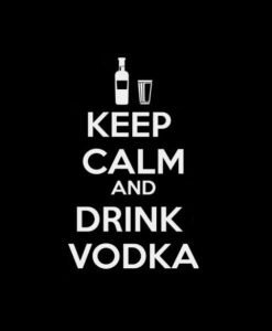 Keep Calm and drink Vodka Decal Sticker