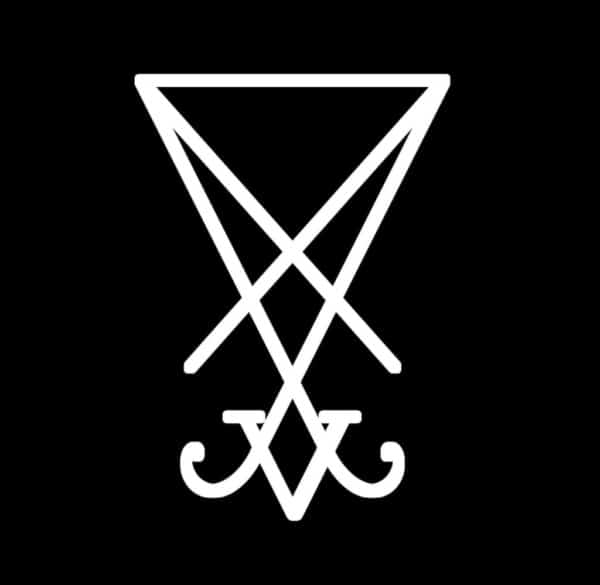Lucifer Sigil Vinyl Decal Stickers Sticker Flare Llc