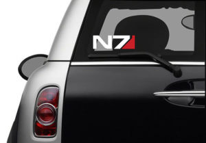 Mass Effect N7 Decal Sticker