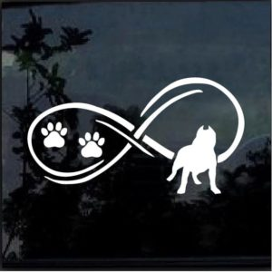 pitlife pitbull infinity decal sticker