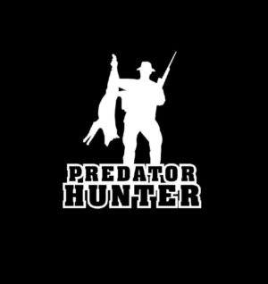 Predator Hunter Hunting Decal Sticker
