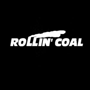 Rolling Coal Diesel Truck Decal Sticker A4