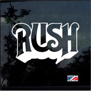 rush band decal