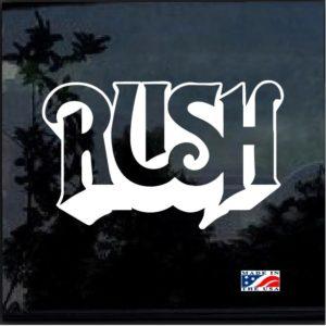 rush band decal