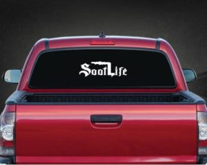 Soot Life Diesel Rear Window Decal
