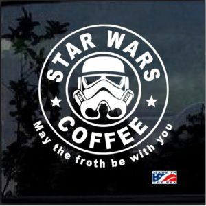 star wars coffee decal sticker