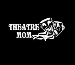 Drama Theatre Mom Window Decals a2