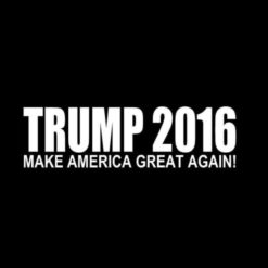 Trump 2016 Decal Make America Great Again