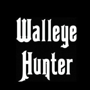 Walleye hunter decal sticker