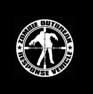 Zombie Response Vehicle Decal Sticker a7