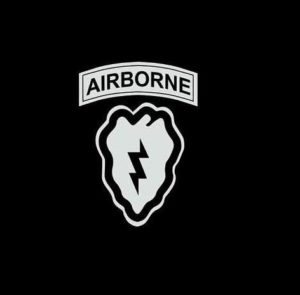 25th Infantry airborne Decal Sticker