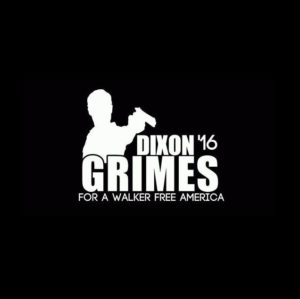 Dixon Grimes 2016 Walking Dead decal sticker