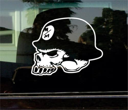 Metal Mulisha Skull Truck Decal Stickers Custom Sticker Shop Llc - Custom vinyl decals for metal