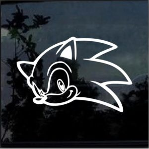 Sonic the Hedgehog decal sticker a2
