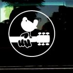 Woodstock Music Festival  - Band Stickers