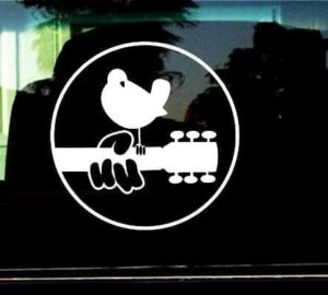 Woodstock Music Festival Decal Sticker