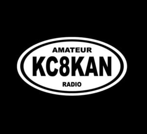 Ham Amateur Radio Call Sign Decal Sticker
