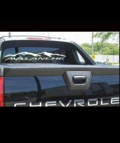 Rear Window Decal Fits Chevy Avalanche