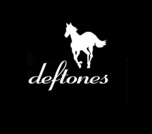 Deftones horse decal sticker