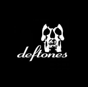 Deftones Skull decal sticker
