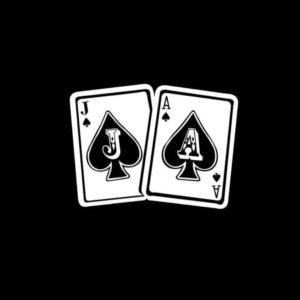 Jason Aldean Spade vinyl decal sticker