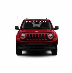 Windshield Decal Fits Jeep Patriot