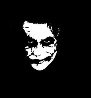 Batman Joker Decal Sticker