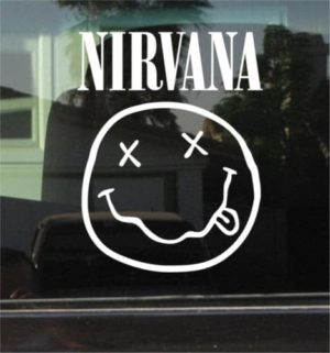 Nirvana band Decal Sticker