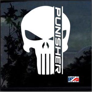 punsiher skull decal sticker a2