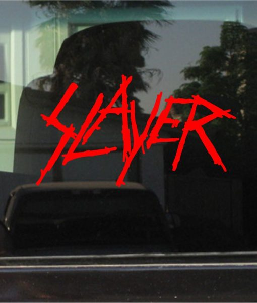 slayer Vinyl Decal Sticker