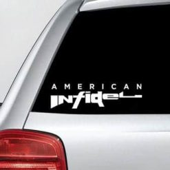 American Infidel - NRA Vinyl Decal Sticker