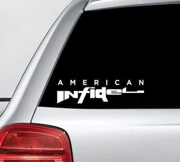 American Infidel - NRA Vinyl Decal Sticker